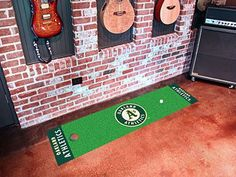 Oakland Athletics Putting Green Runner