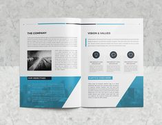 The Company Profile 16 Pages by BrochuresFactory on @creativemarket Brochure Design, Brochure Template, Block Quotes, Latest Fonts, First Contact, Company Profile, Brochures, Photoshop, Graphic Design
