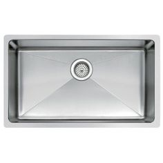 Water Creation SS-U-3018B 30-Inch by 18-Inch Under Mount Single Bowl Stainless Steel Kitchen Sink with Coved Corners - Amazon.com
