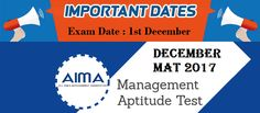 MBAUniverse: MAT December 2017 Exam : Check Out Important Exam ...