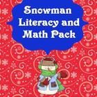This is a math and literacy pack that goes along with the books Snowmen At Work and Snowmen All Year by Caralyn Buehner.  Only the two comprehensio...
