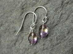 5.77 Carat Ametrine Earrings