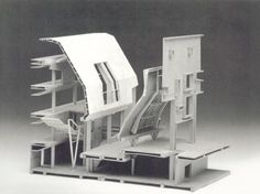 munster library by bolles & wilson Architecture Model Making, Architecture Collage, Architecture Drawings, Model Building, Architecture Details, Interior Architecture, Architectural Section, Architectural Models, 3d Modelle