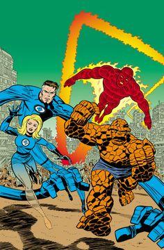 Fantastic the First Superhero Team of Marvel! Comic Book Characters, Marvel Characters, Comic Character, Comic Books Art, Book Art, Marvel Comics Superheroes, Dc Comics Art, Marvel Dc Comics, Ms Marvel