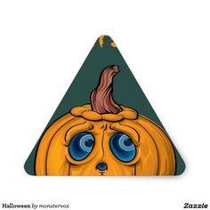 Halloween Triangle Sticker