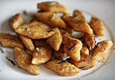 Kopytka marchewkowo imbirowe - DoradcaSmaku.pl Magic Recipe, Kung Pao Chicken, Tofu, Chicken Wings, Sweet Potato, Potatoes, Meat, Dinner, Vegetables