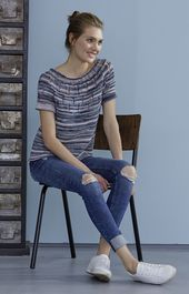 Top-down Shirt, S10220 | Schachenmayr