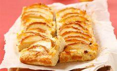 Finis Feinstes - Rezepte - Fini´s Rezepte - Topfen-Grießkuchen mit Äpfeln