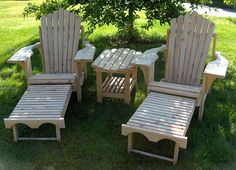 Handcrafted Adirondack Furniture from Vermont - Browns Outdoor Furniture