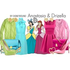 Anastasia & Drizella by Disney Bound