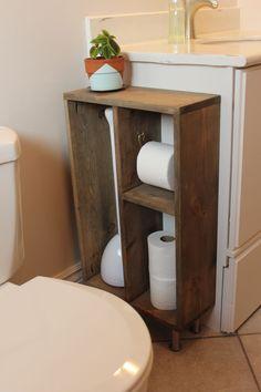 DIY Side Vanity Storage