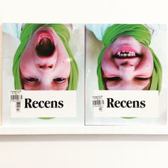 Interesting #splitcover from @recenspaper #recenspaper #youth #fashion #culture #subculture