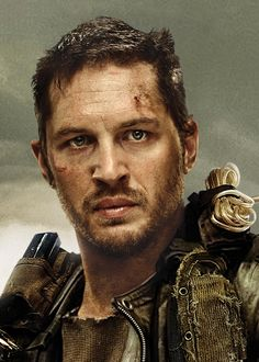 Tom Hardy as Mad Max from Entertainment Weekly.