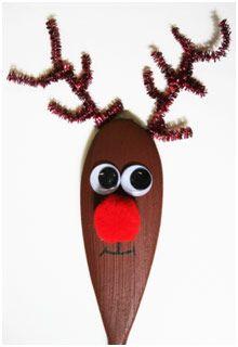 Reindeer Easy Craft Spoon