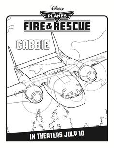 Cabbie Coloring Page