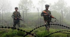 Pakistani troops violated the ceasefire twice overnight by resorting to small arms firing and mortar shelling along the Indo-Pak border in Jammu and Poonch districts, drawing retaliation from the Army.