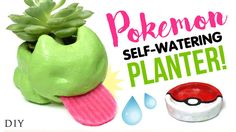 Even experienced Trainers need to unwind and relax after long walks searching for Pokemon. Create your very own Pokemon egg bath bombs that contain a little . Diy Arts And Crafts, Fun Crafts, Budget Crafts, Geek Crafts, Savannah Craft, Diy Self Watering Planter, Succulent Bowls, Pokemon Go, Pokemon Diys