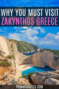 Road Trip Europe, Europe Travel Guide, Travel Destinations, European Vacation, European Travel, Greece Beaches, Greece Honeymoon, Zakynthos Greece, Travel Inspiration