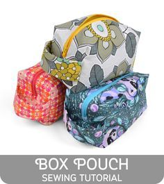 Freebie Friday! Box Pouch | Choly Knight
