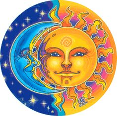I love the sun  the moon
