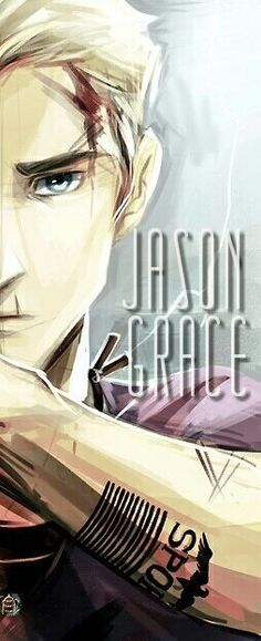 I can never really find a lot of Jason Grace fanart :/ Arte Percy Jackson, Percy Jackson Books, Percy Jackson Fandom, Jason Grace, Jason Jason, Percabeth, Solangelo, Saga, Piper Mclean