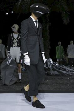 Thom Browne Menswear Spring Summer 2017 Paris