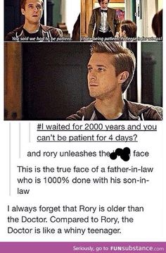 I never thought of that before, I am seriously weirded out, but it's Doctor Who anything is poss
