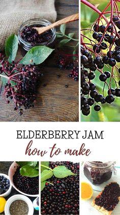 This contains: elderberry jam, preserving elderberry,