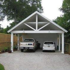 Storage shed with carport sheds carports and awnings for Garage door repair port charlotte fl