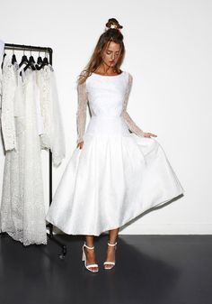 Brautkleid - Kurzes Brautkleid - rime arodaky Jasmin