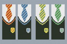 Harry Potter bookmarks cross stitch pattern pdf Harry by AvroraCS Harry Potter Perler Beads, Harry Potter Bookmark, Harry Potter Crochet, Loom Patterns, Crochet Blanket Patterns, Crochet Pattern, Cross Stitching, Cross Stitch Embroidery, Cross Stitch Designs