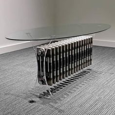 Zehnder Floating Radiator Table by Neet Bandana Design Company – upcycleDZINE