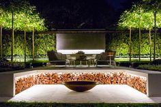 Gartenprojekte Gardening and landscaping - exciting project from Australia garden Fire Pit Landscaping, Fire Pit Backyard, Diy Gazebo, Pergola Ideas, Garden Show, Easy Garden, Outdoor Projects, Amazing Gardens, Landscape Design