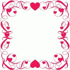 Welcome to the Silhouette Design Store, your source for craft machine cut files, fonts, SVGs, and other digital content for use with the Silhouette CAMEO® and other electronic cutting machines. Page Borders Design, Border Design, Borders For Paper, Borders And Frames, Valentine Greeting Cards, Valentines, Cool Powerpoint Backgrounds, Wood Burning Stencils, Cricut Explore Projects