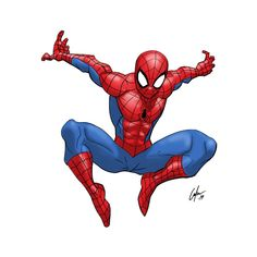 This article contains guidelines on how to draw Spiderman in a static position, in action and also in the cartoon form. Spiderman Sketches, Spiderman Drawing, Marvel Drawings, Cartoon Drawings, Easy Drawings, How To Draw Spiderman, Cartoons To Draw, Spiderman Poses, Spiderman Kunst