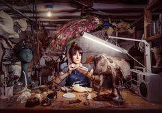 O fotógrafo americano Chris Crisman tem um projeto intitulado #womenswork em que fotografa mulheres em profissões inusitadas. Aqui a taxidermista @diamondtoothtaxidermy de Filadélfia nos EUA. Fazem parte da série fotos de pescadoras geólogas açougueiras entre outras. A intenção de Chris é mostras às novas gerações que não existem barreiras de gênero na hora de escolher novas profissões. #regram (via @marialauraneves)  via MARIE CLAIRE BRASIL MAGAZINE OFFICIAL INSTAGRAM - Celebrity  Fashion…