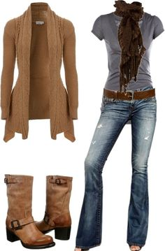 Don't like the washed-off jeans so much, but the Style Is Great :)