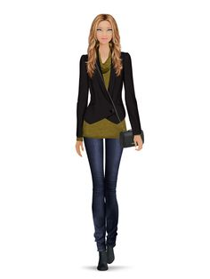 Styled with: Rachel Zoe, Hudson, Three Dots, Rebecca Minkoff, Karen London   Create your own look with Covet Fashion