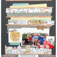 Hello and happy Friday  I love this wonderful LO from team member @wantenucci using our #august2015 kits  Great design  @cratepaper Wonder #cratepaper @pinkfreshstudio @dearlizzy @americancrafts #hipkitclub #hipkits #scrapbookkits #august2015 #washitape