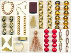 100 new items this week, including lots of chain, vintage Japanese beads, and more!