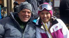 Garey & Shannon Ski-ing in Breckenridge. CO. 2013.