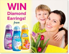 *THIS SWEEPSTAKES HAS ENDED* LIKE if you'd love to win a pair of diamond earrings for #MothersDay!