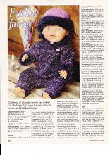 Album Archive - Dukketøj til Baby Born 2 - Ingelise Knitting Dolls Clothes, Doll Clothes Patterns, Doll Patterns, Clothing Patterns, Pixie, Baby Born, Baby Knitting Patterns, Reborn Dolls, Barbie Dolls