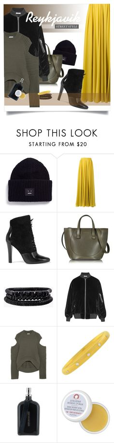 """""""One day in Reykjavik"""" by laste-co ❤ liked on Polyvore featuring Acne Studios, Elie Saab, 3.1 Phillip Lim, Victoria Beckham, Spring Street, IRO, DKNY, Boris Bidjan Saberi, First Aid Beauty and iceland"""