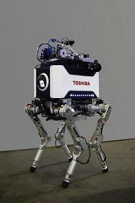 福島第一原子力発電所向けの4足歩行ロボット