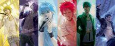 Kiseki No Sedai, Generation Of Miracles, Kuroko No Basket, Painting, Beautiful, Painting Art, Paintings, Drawings
