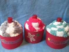 Cozy Cupcake Party Favors for Spa Party by TasmajeaCelebrations, $24.00