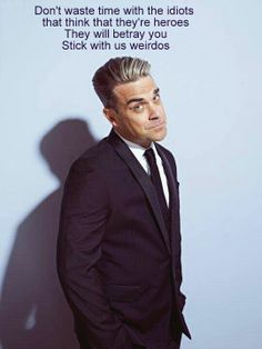 Robbie Williams - Go Gentle LOL! This made me crack up for some reason.