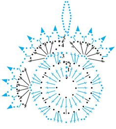 snowflakes crochet 209 schema 1