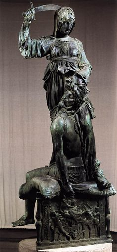 Donatello: Judith and Holofernes (Bronze)  (1455-1460) Italian